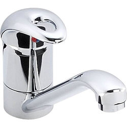 Abode Ursa Single Lever Kitchen Tap (Chrome).