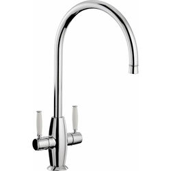 Abode Harrington Monobloc Kitchen Tap (Chrome).