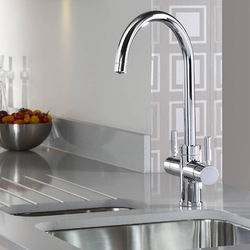 Abode Pronteau 3 In 1 Boiling Water Filtered Kitchen Tap (Chrome).