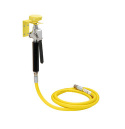 Acorn Thorn Stay Open Drench Handset With Single Spray, Wall Bracket & Hose.