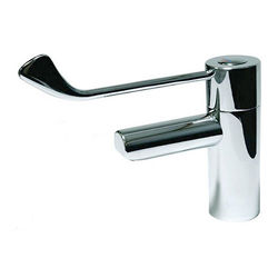 "Acorn Thorn TMV3 Thermostatic Basin Mixer Tap With 6"" Lever Handle."