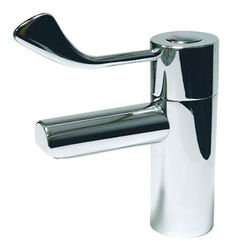 "Acorn Thorn TMV3 Thermostatic Basin Mixer Tap With 3"" Lever Handle."