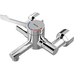 Acorn Thorn Wall Mounted Thermostatic Hospital Tap, Lever Handle.