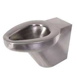 Acorn Thorn Back To Wall Toilet Pan (Stainless Steel).