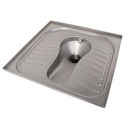 Acorn Thorn Squatting Toilet Pan (Stainless Steel).