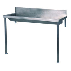 Acorn Thorn Heavy Duty Wash Trough With Legs 1800mm (Stainless Steel).