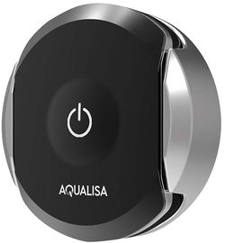 Aqualisa Q Q Smart Wireless Remote Control (Chrome & Black).