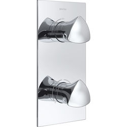 Bristan Bright Concealed Shower Valve (1 Outlet, Chrome).
