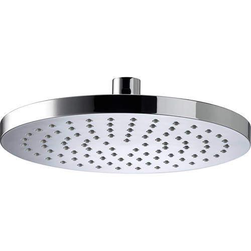 Bristan Accessories Round Fixed Shower Head (200mm, ABS).