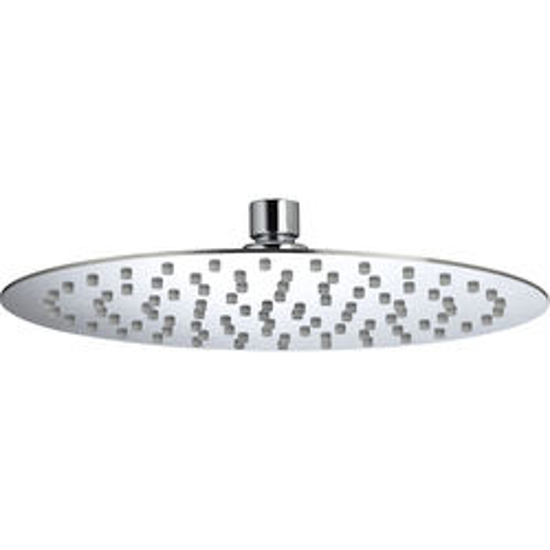 Bristan Accessories Round Fixed Shower Head (250mm, Stainless Steel).