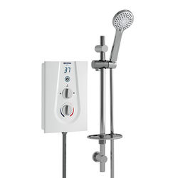 Bristan Glee Electric Shower With Digital Display 10.5kW (White).