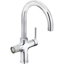 Bristan Rapid 4 In 1 Instant Boiling Water Kitchen Tap (Chrome).