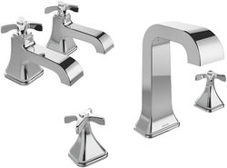 Bristan Glorious Basin & 3 Hole Bath Filler Taps Pack (Chrome).