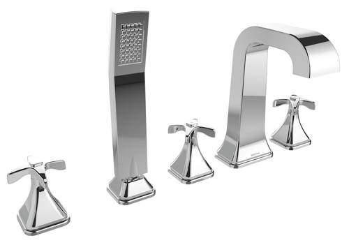 Bristan Glorious 5 Hole Bath Shower Mixer Tap (Chrome).