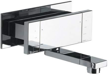 Damixa G Type Wall Mounted Bath Filler Tap (Chrome) 72110.