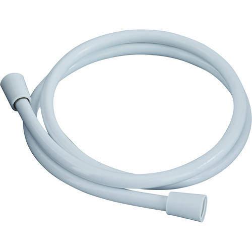 Bristan Accessories Cone To Cone Shower Hose (1.5m, 8mm, White).