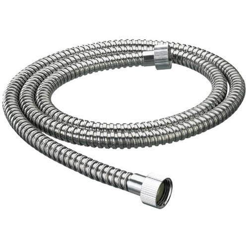 Bristan Accessories Nut To Nut Shower Hose (1.75m, 8mm, Chrome).