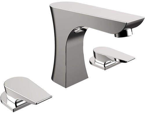 Bristan Hourglass 3 Hole Bath Filler Tap (Chrome).