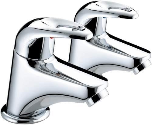 Bristan Java Bath Taps (Pair, Chrome).