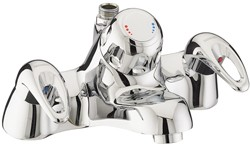 Bristan Java Bath Filler Tap With Thermostatic Shower (Chrome).