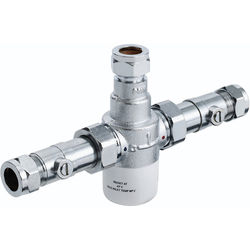 Bristan Commercial Thermostatic Blending Valve With Isolation TMV3 (15mm)