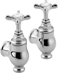 Bristan 1901 Globe Bath Taps, Chrome Plated. NGLOCCD