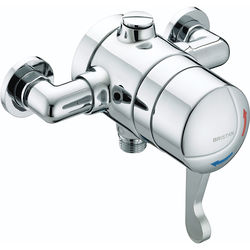 Bristan Commercial Exposed Shower Valve  With Lever Handle (TMV3).