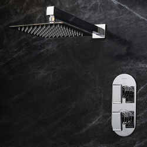 Bristan Pivot Shower Pack With Arm & Square Head (Chrome).