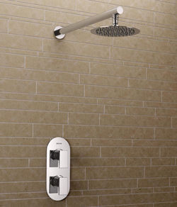 Bristan Sail Thermostatic Bathroom Shower Pack (Chrome).