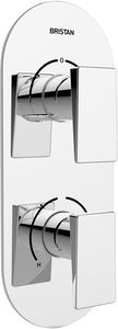 Bristan Sail Dual Thermostatic Shower Valve With 2 x Outlet Diverters.