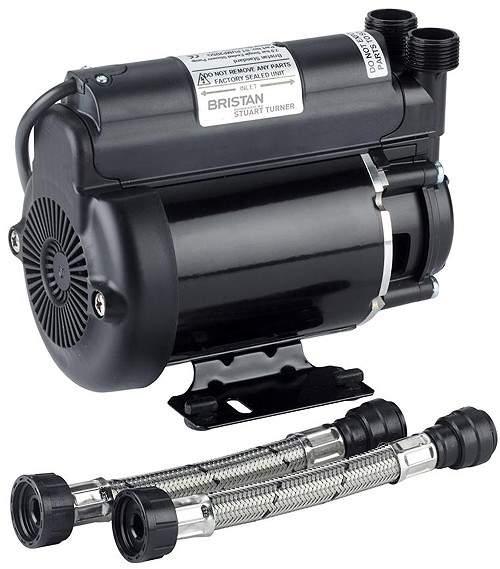 Bristan Pumps Single Flow Single Speed Impeller Shower Pump 2 Bar (High Boost).