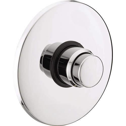 Bristan Commercial Concealed Push Button Time Flow Valve (Chrome).