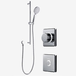 Digital Showers Digital Shower Valve, Remote & Slide Rail Kit (LP).