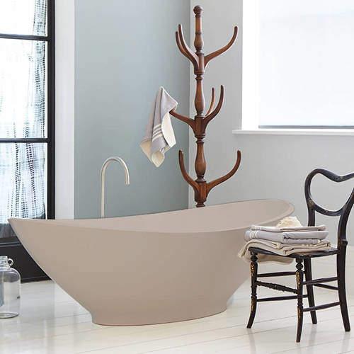 BC Designs Kurv ColourKast Bath 1890mm (Light Fawn).