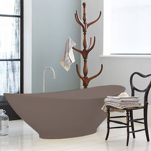 BC Designs Kurv ColourKast Bath 1890mm (Mushroom).