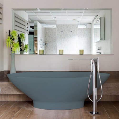BC Designs Tasse ColourKast Bath 1770mm (Powder Blue).