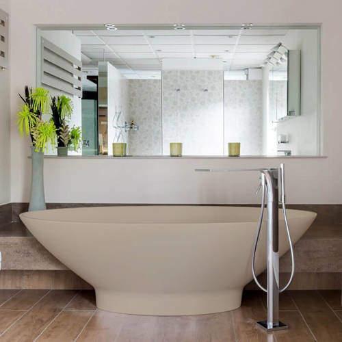 BC Designs Tasse ColourKast Bath 1770mm (Light Fawn).