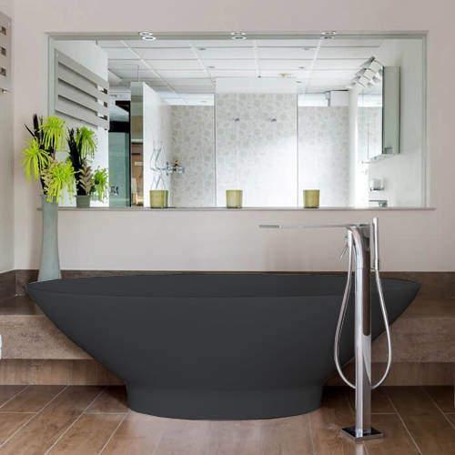 BC Designs Tasse ColourKast Bath 1770mm (Gunmetal).