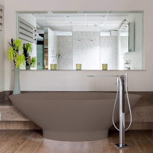 BC Designs Tasse ColourKast Bath 1770mm (Mushroom).