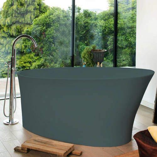 BC Designs Delicata ColourKast Bath 1520mm (Powder Blue).