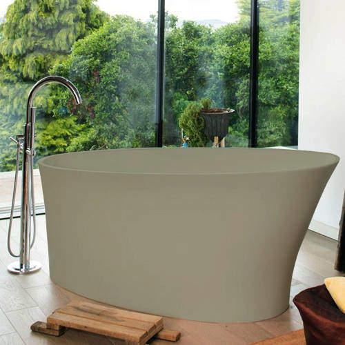 BC Designs Delicata ColourKast Bath 1520mm (Light Fawn).