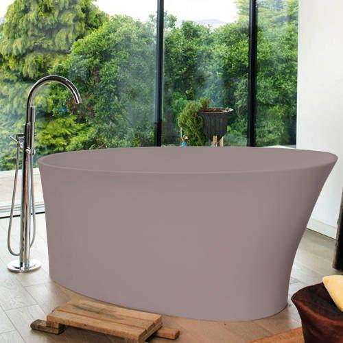 BC Designs Delicata ColourKast Bath 1520mm (Satin Rose).