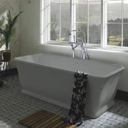 BC Designs Magnus ColourKast Bath 1680mm (Industrial Grey).