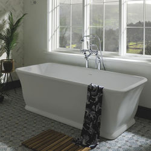 BC Designs Magnus ColourKast Bath 1680mm (Powder Grey).
