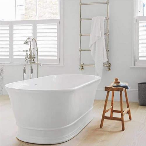 BC Designs Aurelius Bath 1740mm (Polished White).