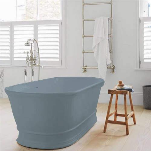 BC Designs Aurelius ColourKast Bath 1740mm (Powder Blue).