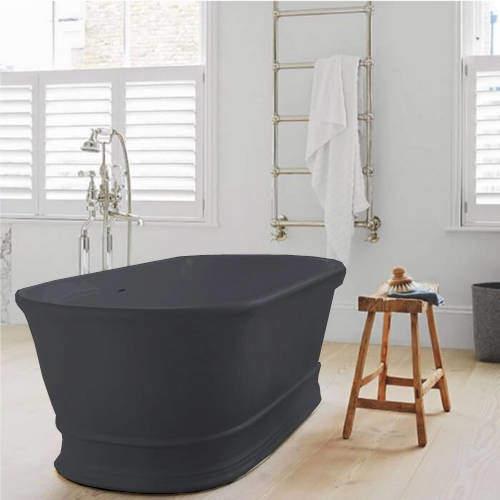 BC Designs Aurelius ColourKast Bath 1740mm (Gunmetal).
