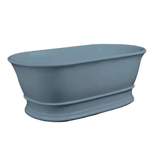 BC Designs Bampton ColourKast Bath 1555mm (Powder Blue).