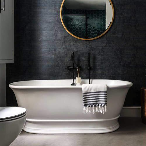 BC Designs Bampton Bath 1555mm (Matt White).