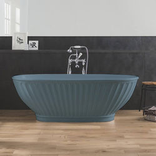 BC Designs Casini ColourKast Bath 1680mm (Powder Blue).
